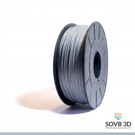 Filament ABS Gris Aluminium 3mm 1kg
