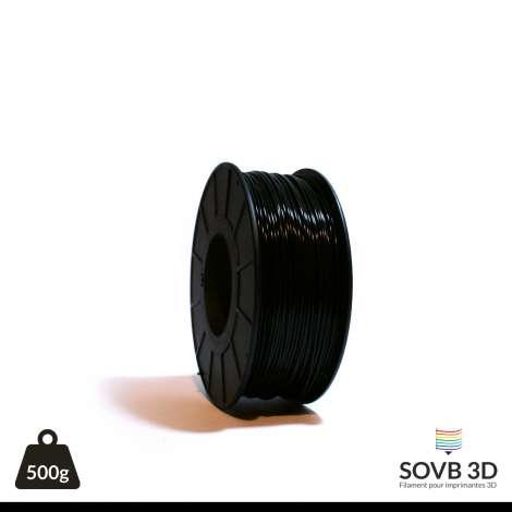Fil PLA Noir 1.75mm 500g