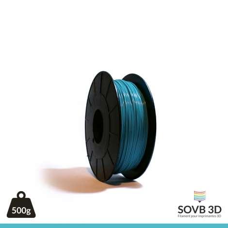Fil PLA Bleu Turquoise 1.75mm 500g
