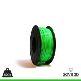 Fil PLA Vert Fluo 3mm 500g