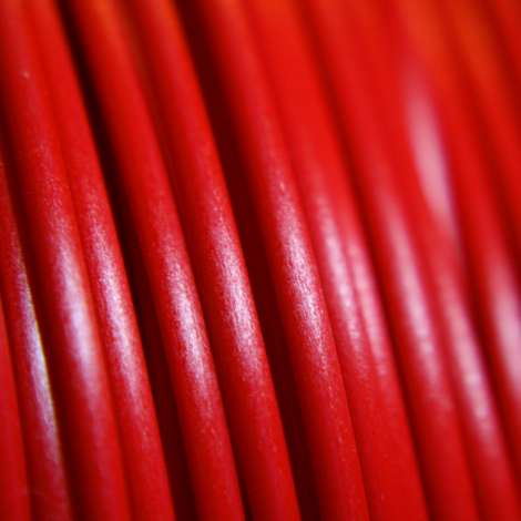 Fil PLA Rouge 1.75mm 500g