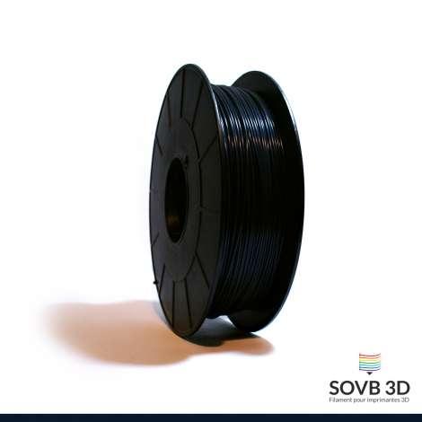 Fil PLA Noir Bleuté 1.75mm 1Kg