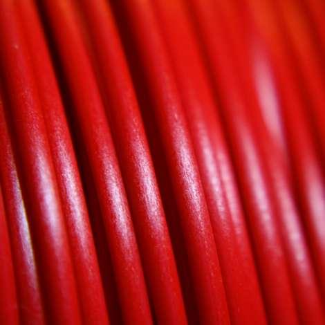 Fil PLA Rouge 3mm 1Kg