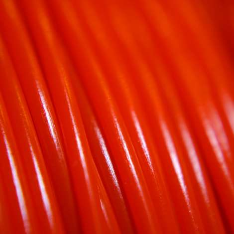 Fil PLA Orange Fluo 3mm 1kg