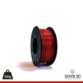 Fil PLA Rouge alumine 1.75mm 500g