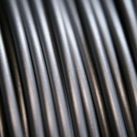 Fil PLA Gris argent 1.75mm 1Kg