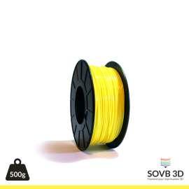 Fil PLA Jaune 3mm 500g