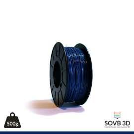 Fil PLA Bleu nuit alumine 3mm 500g