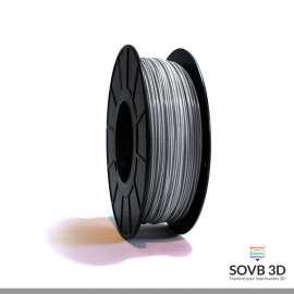 Fil PLA Gris aluminium 3mm 1Kg