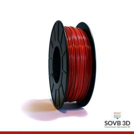 Fil PLA Rouge alumine 3mm 1Kg