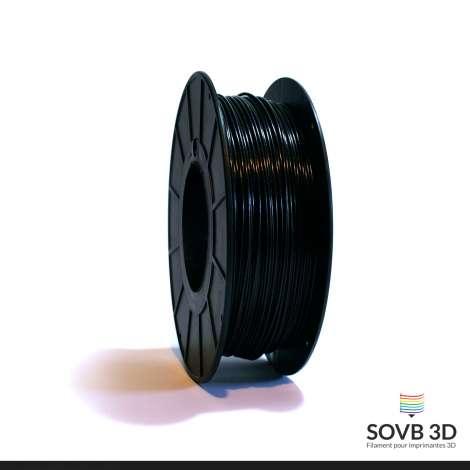 Fil PLA Noir alumine 1.75mm 1Kg