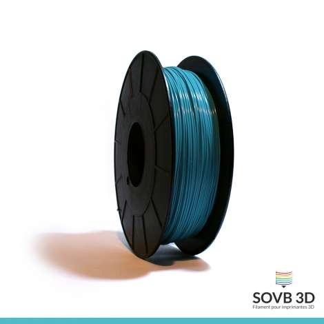 Fil PLA Bleu Turquoise 1.75mm 1Kg