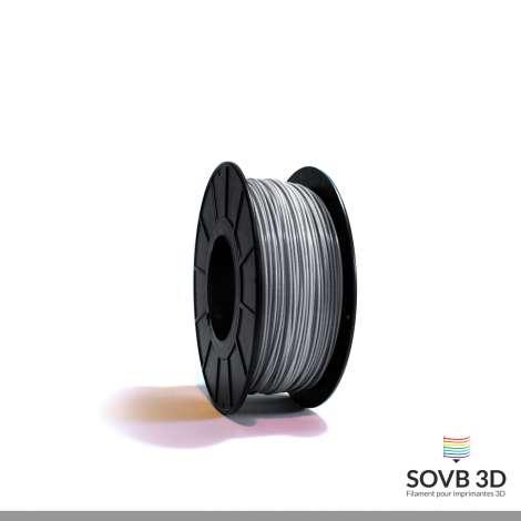 Fil PLA Gris aluminium 1.75mm 500g