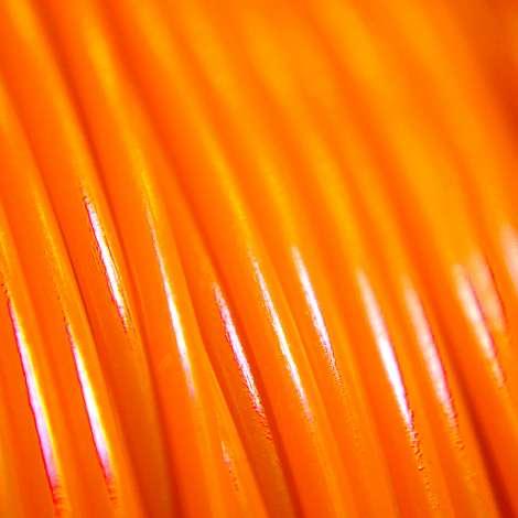 Fil PLA Orange fluo 1.75mm 2Kg